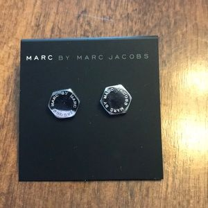 Pair of Silver Marc by Marc Jacobs Earrings